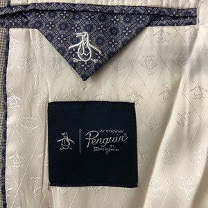 Original Penguin Suits & Blazers - Original Penguin Notch Collar Front Button Blazer